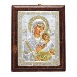 Ikona srebrna Matka Boska Nieustającej Pomocy 31187LCOROA