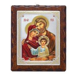 Ikona srebrna Święta Rodzina 31172LADA