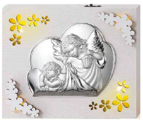 Lampka srebrna - anioł stróż II