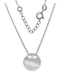 Łańcuszek celebrytka - kółko srebro pr 925 CEL30