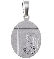 MM111 Medalik srebrny - Matka Boska