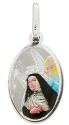 Medalik srebrny (1,6 g) - Święta Rita MK007