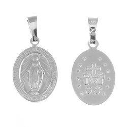 Medalik srebrny - Matki Bożej Niepokalanej Cudowny Medalik M003