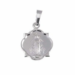 Medalik srebrny - Matki Bożej Niepokalanej Cudowny Medalik M005
