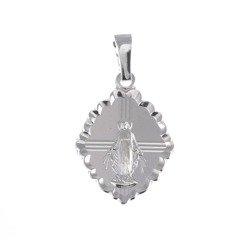 Medalik srebrny - Matki Bożej Niepokalanej Cudowny Medalik M006