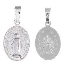 Medalik srebrny - Matki Bożej Niepokalanej Cudowny Medalik MM002