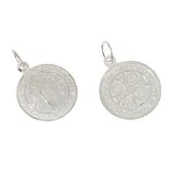 Medalik srebrny - Medalik Świętego Benedykta Eko ML005