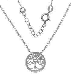 NASZYJNIK Celebrytka - DRZEWKO SZCZĘŚCIA drzewo srebro pr 925 CEL14
