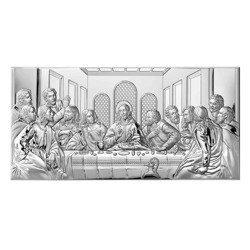 Obraz srebrny Ostatnia Wieczerza 81221