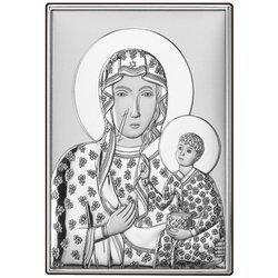 Obrazek Matki Boskiej Częstochowska srebrny Dono DS19