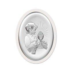 Obrazek Srebrny Pamiątka I Komunii 6413OW