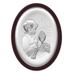 Obrazek Srebrny Pamiątka I Komunii 6413OWM