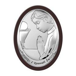 Obrazek Srebrny Pamiątka I Komunii 6464OWM