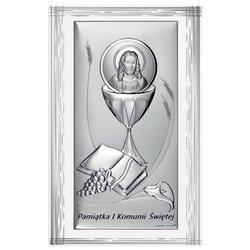 Obrazek Srebrny Pamiątka I Komunii 6681SF
