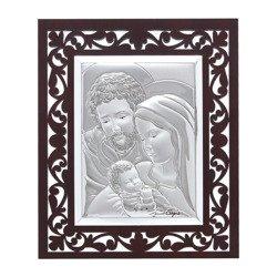 Obrazek Srebrny Święta Rodzina 31129FA