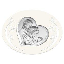 Obrazek Srebrny Święta Rodzina 6514P