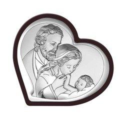 Obrazek Srebrny Święta Rodzina 6514WM