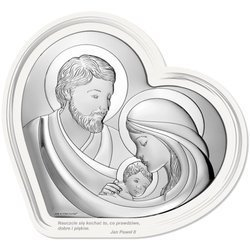Obrazek Srebrny Święta Rodzina 6722F