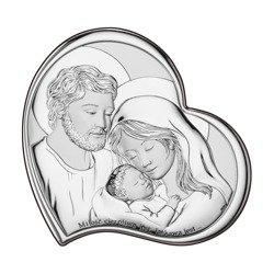 Obrazek Srebrny Święta Rodzina DS10