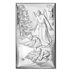 Obrazek srebrny Anioł Stróż 18001