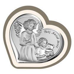 Obrazek srebrny Anioł Stróż 6526CC