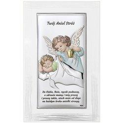 Obrazek srebrny Aniołek Twój Anioł Stróż DS02FC