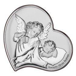 Obrazek srebrny Aniołek Twój Anioł Stróż DS17