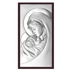 Obrazek srebrny Matka Boska z dzieciątkiem 6381WM