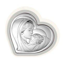 Obrazek srebrny Matka Boska z dzieciątkiem 6433PG