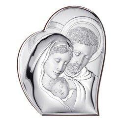 Obrazek srebrny Święta Rodzina 81050