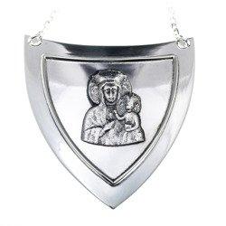 Ryngraf srebrny 925 Matka Boska Częstochowska R19