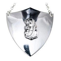 Ryngraf srebrny 925 Matka Boska z Dzieciątkiem R30