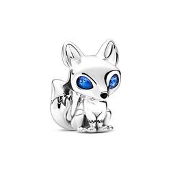 Srebrna przywieszka pr 925 Charms serce różowe w kuli PAN234