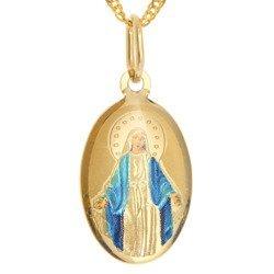 Złoty medalik pr. 585 M.B. Niepokalana Cudowny Medalik ZM067