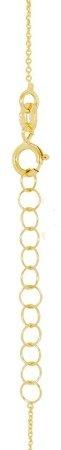 Celebrytka złota naszyjnik z krzyżykiem krzyżyk ZCEL001