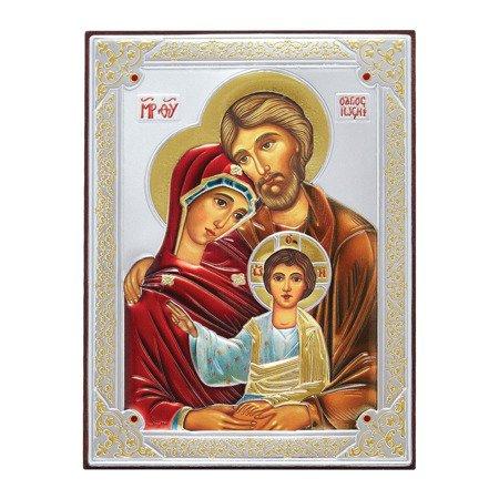 Ikona srebrna Święta Rodzina 31172DA