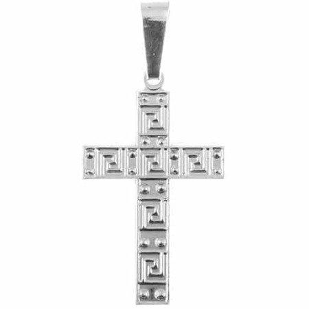 Krzyżyk srebrny M133