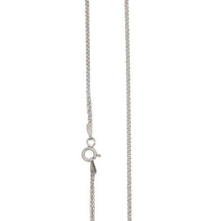 Łańcuszek srebrny pr. 925 lisi ogon (spiga)  SPIGA 035 DIA 4L