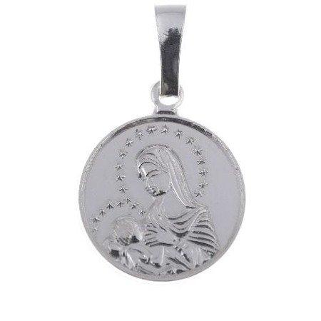 M102 Medalik srebrny - Matka Boska Karmiąca