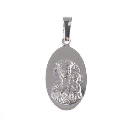 M40 Medalik srebrny - Matka Boska Częstochowska