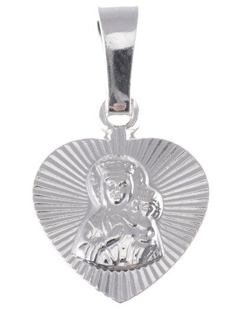 M44 Medalik srebrny - Matka Boska Częstochowska