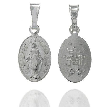 Medalik srebrny - Matki Bożej Niepokalanej Cudowny Medalik MM001