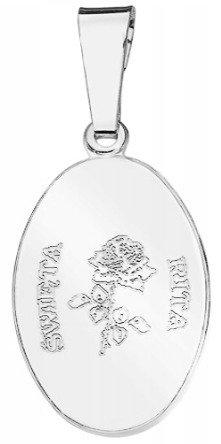 Medalik srebrny - Święta Rita MM020