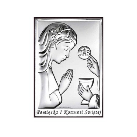 Obrazek Srebrny Pamiątka I Komunii 6491A