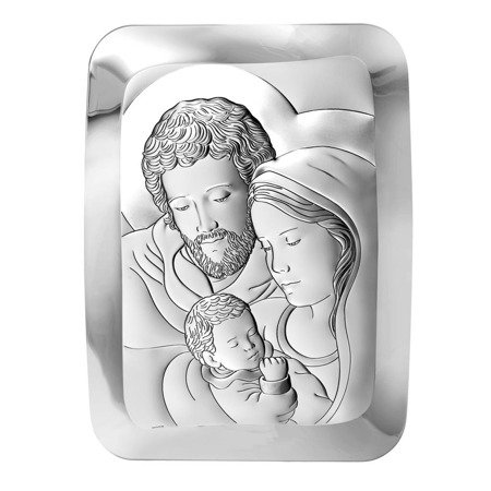 Obrazek Srebrny Święta Rodzina 6404