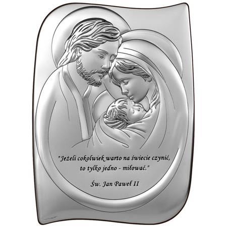 Obrazek Srebrny Święta Rodzina 6466SS