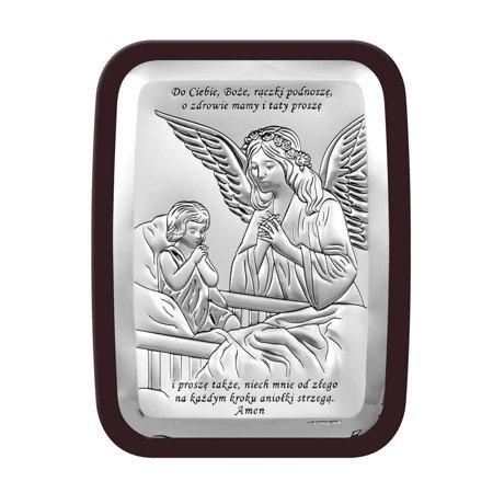 Obrazek srebrny Anioł Stróż 6508SWM