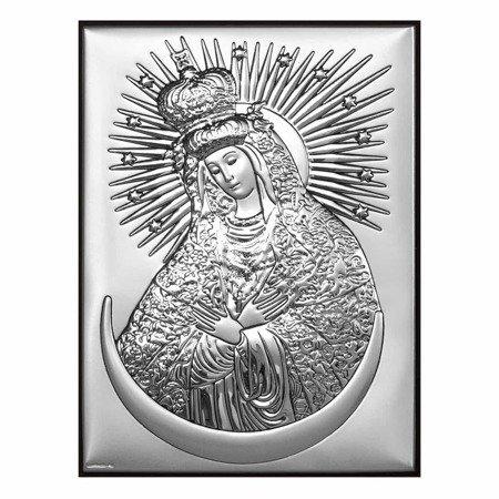 Obrazek srebrny Matka Boska Ostrobramska 6346