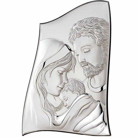 Obrazek srebrny Święta Rodzina 18012
