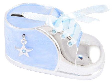 Skarbonka but niebieski z gwiazdką z masy perłowej 473-3197